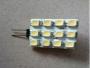 Светодиодная лампа G4 с 12 светодиодами прямоугольная 24V