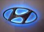 Светодиодная эмблема Hyundai