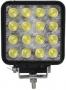 Автомобильный светодиодный прожектор 48W