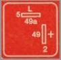 Реле для светодиодов FL2-red