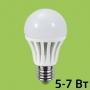 Лампа сд LED-А60-econom 5Вт Е27