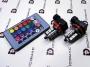 Комплект светодиодных многоцветных ламп H8-RGB