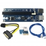 Внешний адаптер USB 3.0 pci-e Extender Riser Card PCI express 16