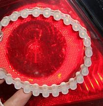 Использование светодиодной ленты торцевого сечения (Great Wall) в фонарях и фарах автомобилей