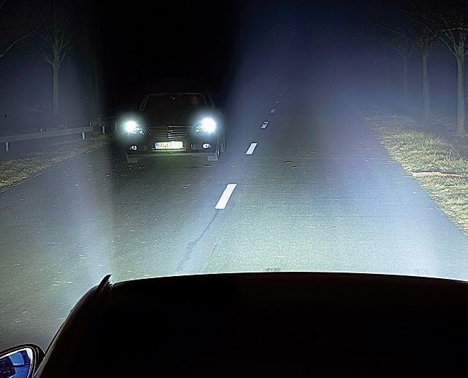 Светодиоды в головной свет автомобиля