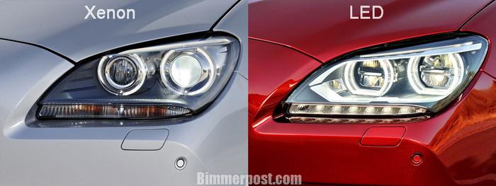 Светодиодные фары на BMW