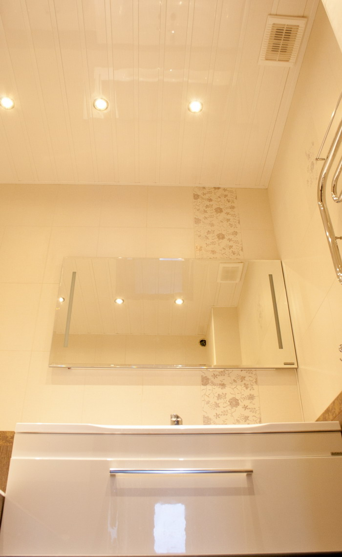 Светодиодное освещение в ванной комнате