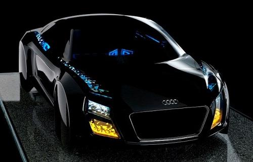 Светодиодные фары будущего от Audi