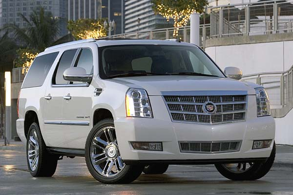 Светодиодные фары на Cadillac
