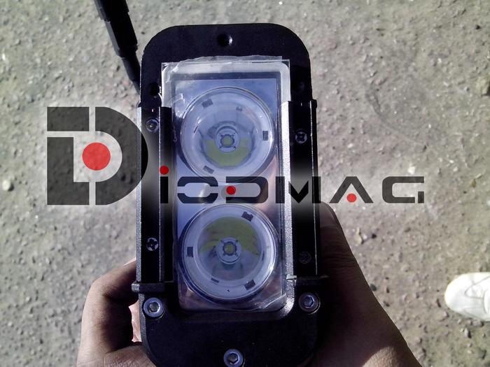 Разбор светодиодного прожектора с 10 ваттными CREE XM-L Светодиодами