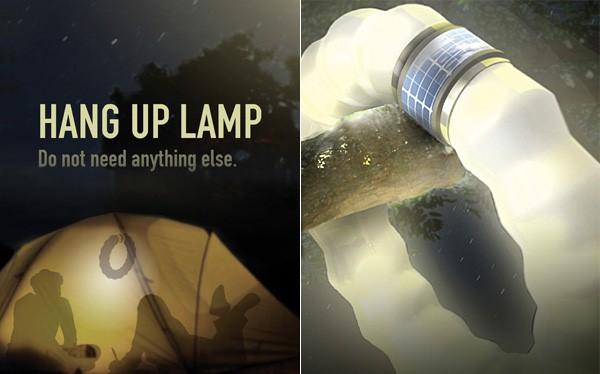 Светодиодная лампа для походов