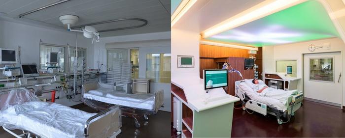 Светодиодные панели Philips в помощь пациентам