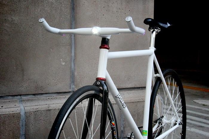 «Умный» светодиодный руль для велосипеда