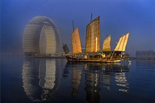 Впечатляющий курортный комплекс будет возведен в Китае